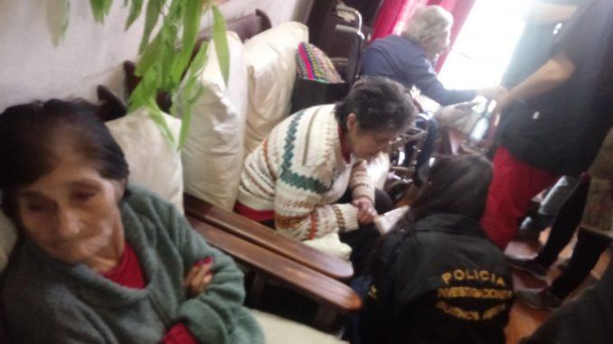 Allanamiento y clausura de geriátrico en Miramar