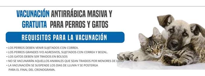 Campaña de Vacunación Antirrábica 2018