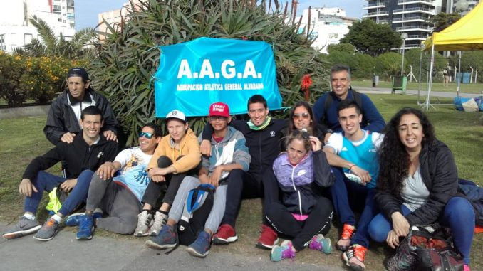 AAGA en el 1º Campeonato Provincial de Milla Urbana