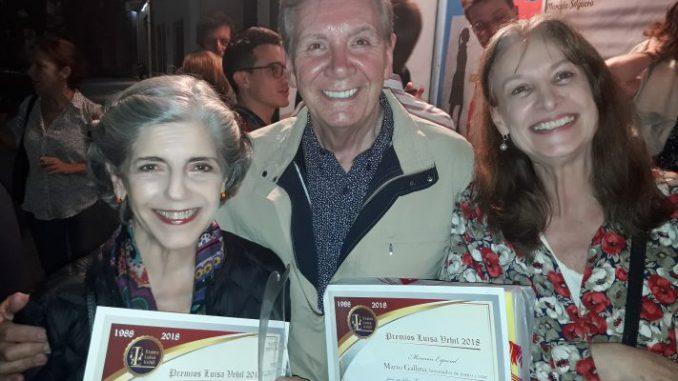 Mario Gallina premiado en Buenos Aires