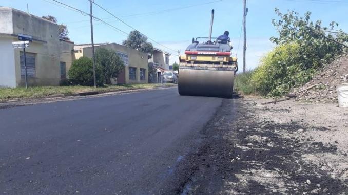 Fresado y reparación de calles en General Alvarado