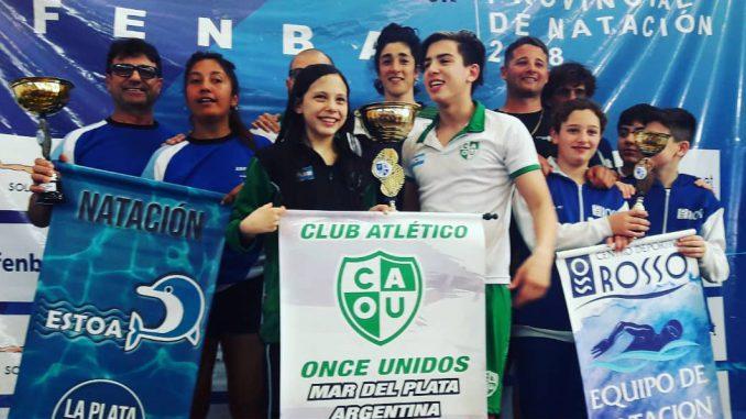 Torneo Provincial de Natación en Once Unidos