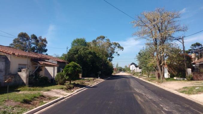 Obras de asfalto en Miramar