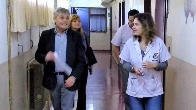 Honores recorrió Hospital Especializado San Lucas
